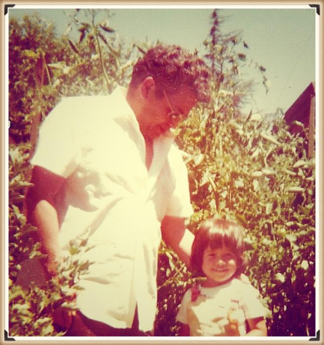 Grandpa Rosales and me tomato garden_Fotor