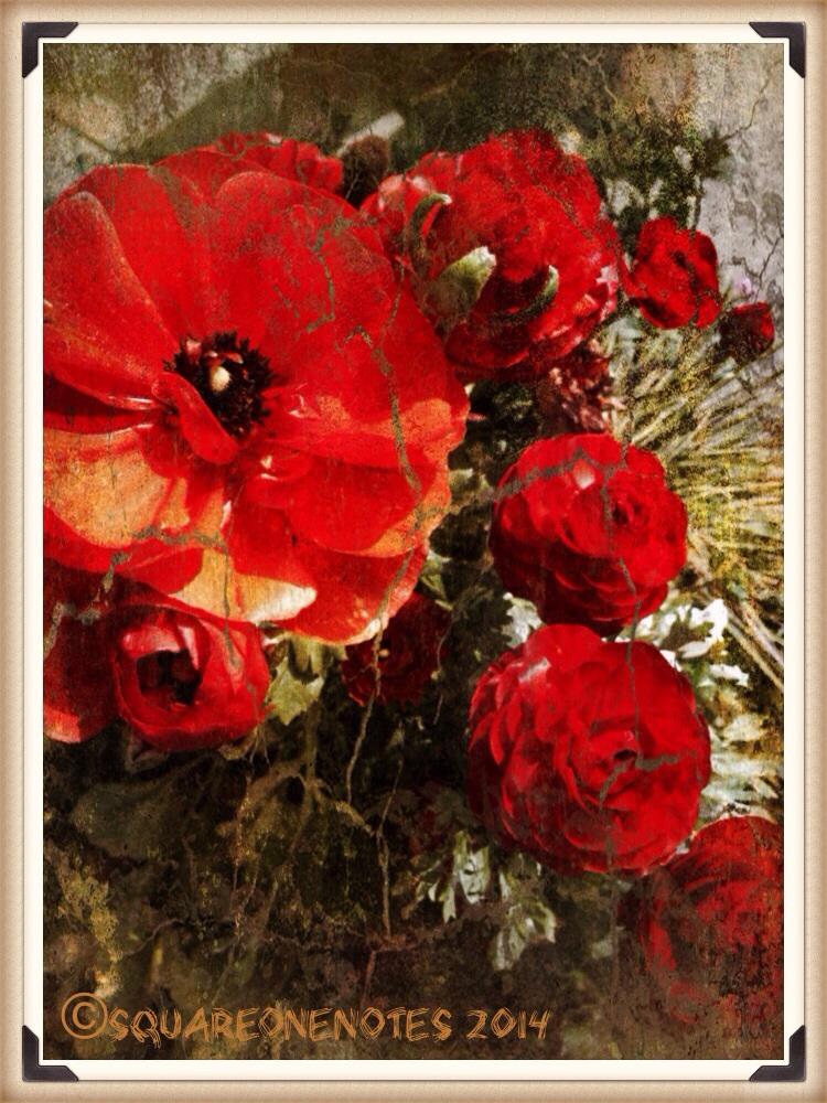 Cracked Crimson