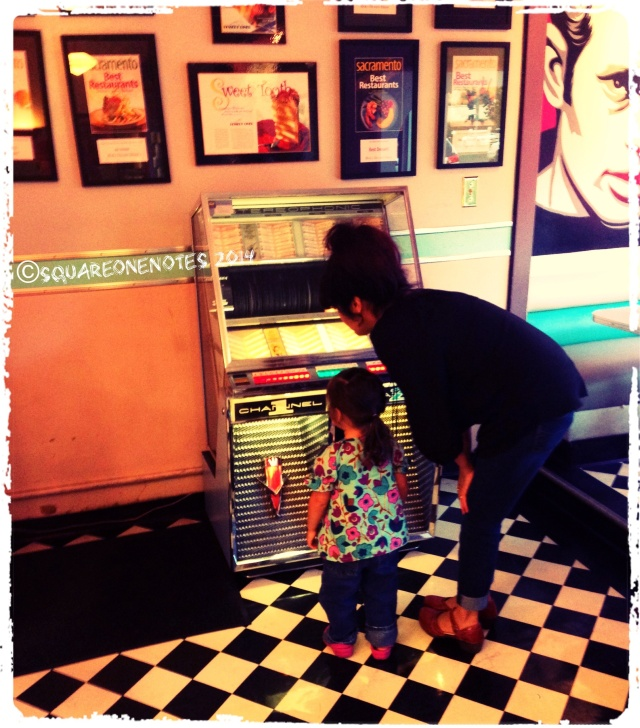 Oliva's 1st Encounter with a Jukebox