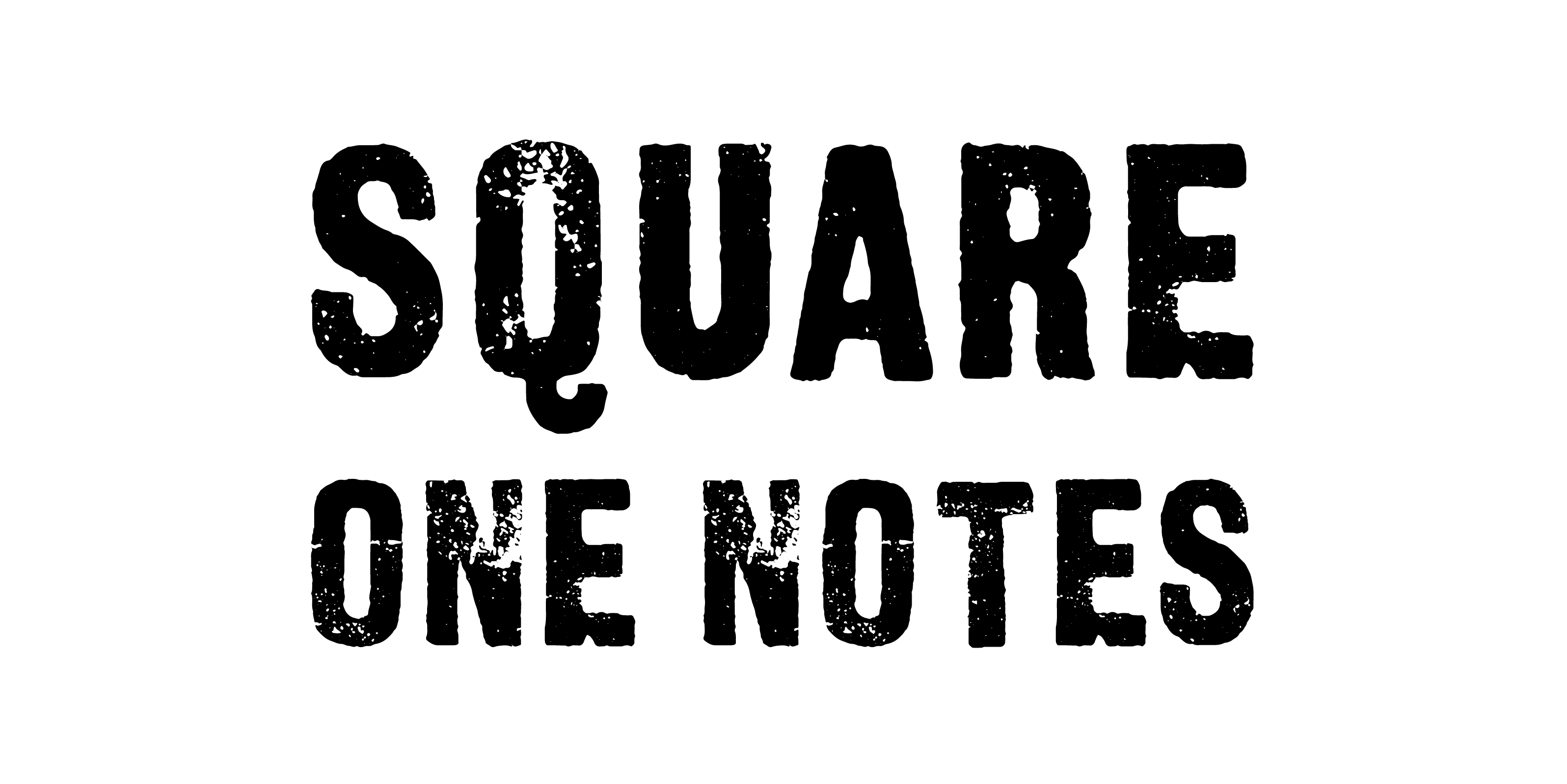 Square One Notes
